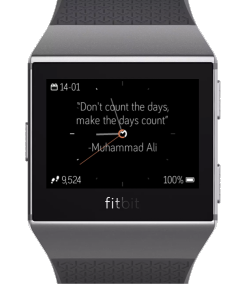 FitBit Ionic Watchface